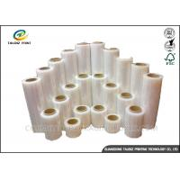 Full Color Stretch Film Jumbo Roll , Industrial Packing Materials For Pallet Wrap Manufactures