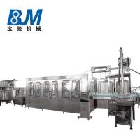 Rotary Carbonated Drink Filling Machine / CSD Drink Production Line For 1.5l Bottle Manufactures