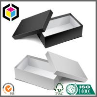 Lid Off Single Color Matte Print Paper Chipboard Gift Box for Shoes Package Manufactures