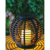 Plastic Material Solar Garden Lights , Solar Outdoor Lighting With Natural Looking Manufactures