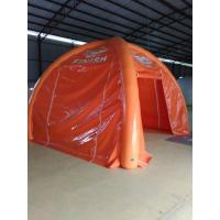 Easy To Carry Tarpaulin Inflatable party tent , Inflatable Lawn Tent For Product Promotion Manufactures