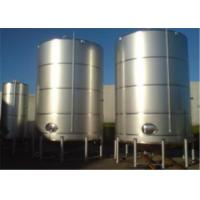 Buy cheap Single Double Wall Jacketed Mixing Tank Stainless Steel Water Storage Tanks from wholesalers