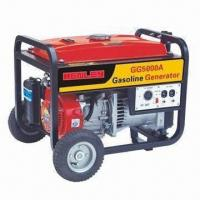 Gasoline Generator Set with Up to 240V AC Rated Voltage, Conforms to EPA Manufactures