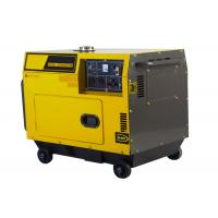 Air-cooled Super Silent Diesel Generator Set 5kw , small diesel electric generator Manufactures