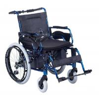China Movable armrest detachable footrest Two Batteries power wheel chairs on sale