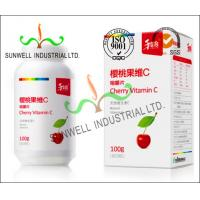 Fruit Vitamin Bottle Medicine Packaging Box CMYK Color Printing Cardboard Manufactures