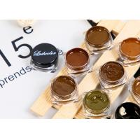 Professional Custom Semi-Permanent Makeup Pigment For Eyebrow / Tattoo Manufactures