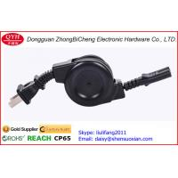 China 3 plug Locking plug Fuse AC Power Cord Reels Retractable Cable on sale