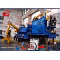 China Mobile Hydraulic Metal Compactor Machine Remote Control Diesel Engine with Truck Trailer on sale