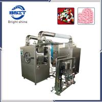 High-Efficiency tablet Film-Coating Machine with coating drum and exhaust machine Manufactures