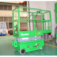 240Kg loading portable industrial mini self propelled lift for painting , cleaning,5m working height Manufactures
