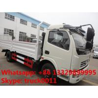 Hot sale dongfeng 4*2 3tons-5tons light duty cargo truck, factory direct sale 5tons light duty dump cargo truck Manufactures
