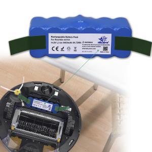 Quality 14.8V 6400mAh Li-ion Batteries for Irobot Vacuum Cleaner Roomba 500 600 700 800 for sale