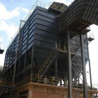 Bule Color Baghouse Dust Collector Filtration System With Large Filtration Area Manufactures