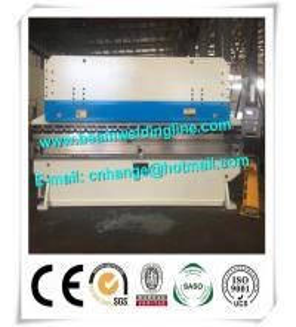Sheet Hydraulic Metal Brake Press Machine , 200 T Steel Plate Bending Press Machine Manufactures