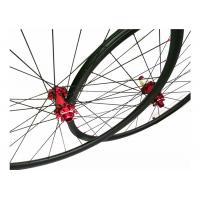 Quality Handbuilt Tubuless 27.5 Mountain Bike Wheels Clincher 135KG Limited Weight for sale