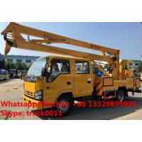 Quality Japan brand ISUZU 12M,14M,16M aerial working platform truck for sale, HOT SALE! best price ISUZU overhead working truck for sale
