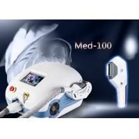 White Portable Intense Pulsed Light Hair Removal Machines For Home Use 1200w Manufactures