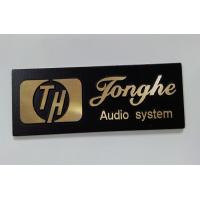 Eco Friendly Aluminum Alloy / Nickel Customized Name Plates / Label Manufactures