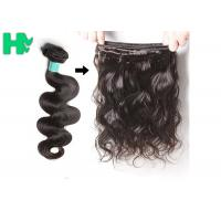 China Big Stock Virgin Indian Human Hair Extension Remy Human Hair Body Wave on sale