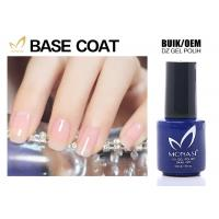 SGS Approved Uv Gel Base Coat , Clear Base Coat For Training School Chemical Free Manufactures
