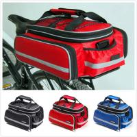 Rear Rack Bike Trunk Bag Double Side , Hand Luggage BagsFor Short Trip Vehicle Carrying Manufactures
