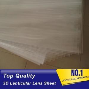 100lpi 0.58mm PET lenticular sheet lens plastic film lenticular printing sheet lenticular sheet importer in usa Manufactures