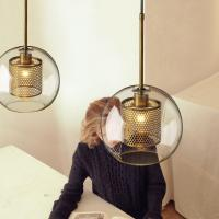 Buy cheap Modern Clear glass globe pendant light For Bar Kitchen Lighting (WH-GP-04) from wholesalers