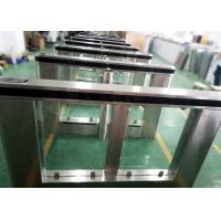 Automatic Pedestrian Turnstyle Door , Subway turnstile access control Gates Machine Manufactures