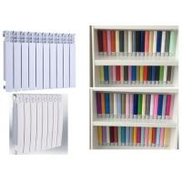 Rich Colour Radiator Powder Coating Electrostatic Spray Chemical Resistant Manufactures