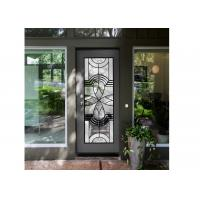 Natural Light Elegant Entry Door Custom Decorative Glass Windows Simple Diffusion Art Manufactures