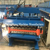Double Deck Tile Roofing Sheet Corrugated Roll Forming Machine Hydraulic Motor Control Manufactures