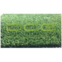 Short Fibrillated Decorative Artificial Grass For Yard , Fake Grass Carpet 2000 Dtex