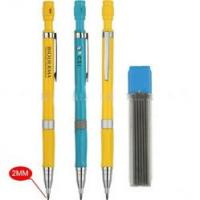 Auto pencil with metal clip and 2 mm pencil lead