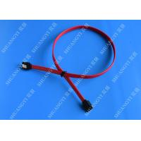 HDD SATA III 6.0 Gbps Female To Female SATA Data Cable 7 Pin With Locking Latch Manufactures