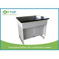 Modern Lab Anti Vibration Table For Analytical Balance With 40 mm Marble Worktop Manufactures