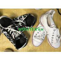 Wearable Second Hand Clothes And Shoes First Grade Used Canvas Shoes Manufactures