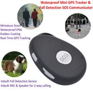 Mini Waterproof 3G GSM Personal GPS Tracker Locator Elderly Fall Detection SOS Communicator Alzheimer Keyring EV07 Manufactures