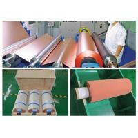 500 - 5000 Meter 18um Copper Roll, High Ductility Adhesive Copper Foil Sheet Manufactures