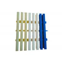 Mobile Three Hole Type Flexible Pool Overflow Grating Slip Resistance Manufactures