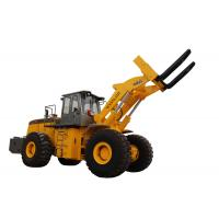 Sell big capacity rought terrain mining machine 32T block handler equipment with 199KW engine Manufactures