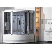 Quality Comfortable Whirlpool Steam Shower Bath Cabin Unit With Computer Control Panel for sale