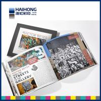 China Custom One or Double sided Hardcover Book Printing with glossy lamination , Debossing on sale