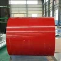 PPGI color coated Corrugated  steel cold-rolled base metal coil for family roofing Manufactures