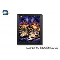 China Eco Friendly PET 3D Flip Picture , Customized High Definition Lenticular Movie Poster on sale