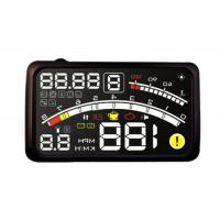4e Hud RPM Alarm Heads Up Speed Display White LED 5.5 Inch Screen  Engine Fault Code Manufactures