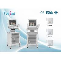 CE approved professional 3 heads face lift HIFU Face Lift Machine HIFU-F Manufactures