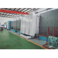Hollow Glass Double Glazing Machinery 60 Mm Hierarchical Washing System