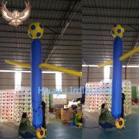 Quality inflatable soccer air dancer sky dancer for sale