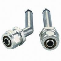 China Pex-al-pex fittings with 2 O-ring, brass ring, plastic washer, easy to assemble on sale